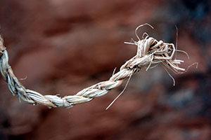plant fiber cordage used by early Sedona inhabitants